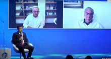 Michel Temer e Álvaro Uribe no 8º Fórum Liberdade e Democracia, promovido pelo IFL-SP