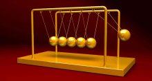 Pêndulo dourado, investimentos, mercados