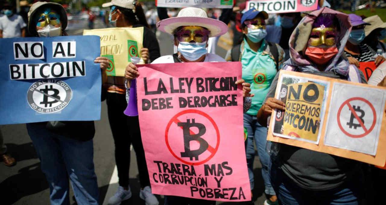 Protesto El Salvador2
