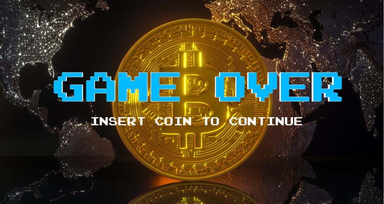 Bitcoin game over