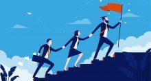 ilustração liderança