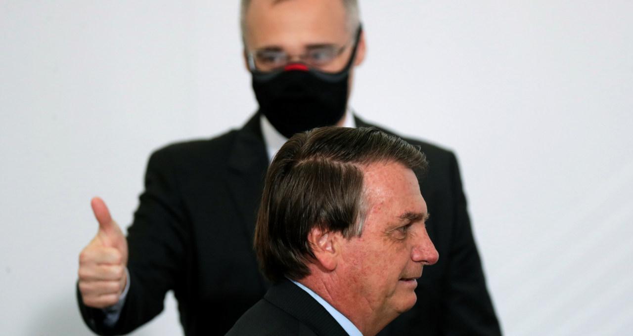 André e Bolsonaro
