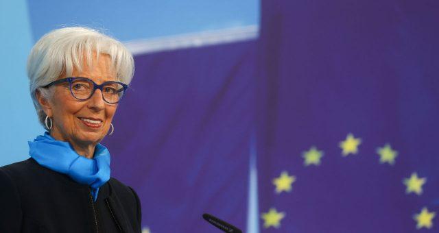 Lagarde, do BCE, rechaça apostas do mercado em alta de juros