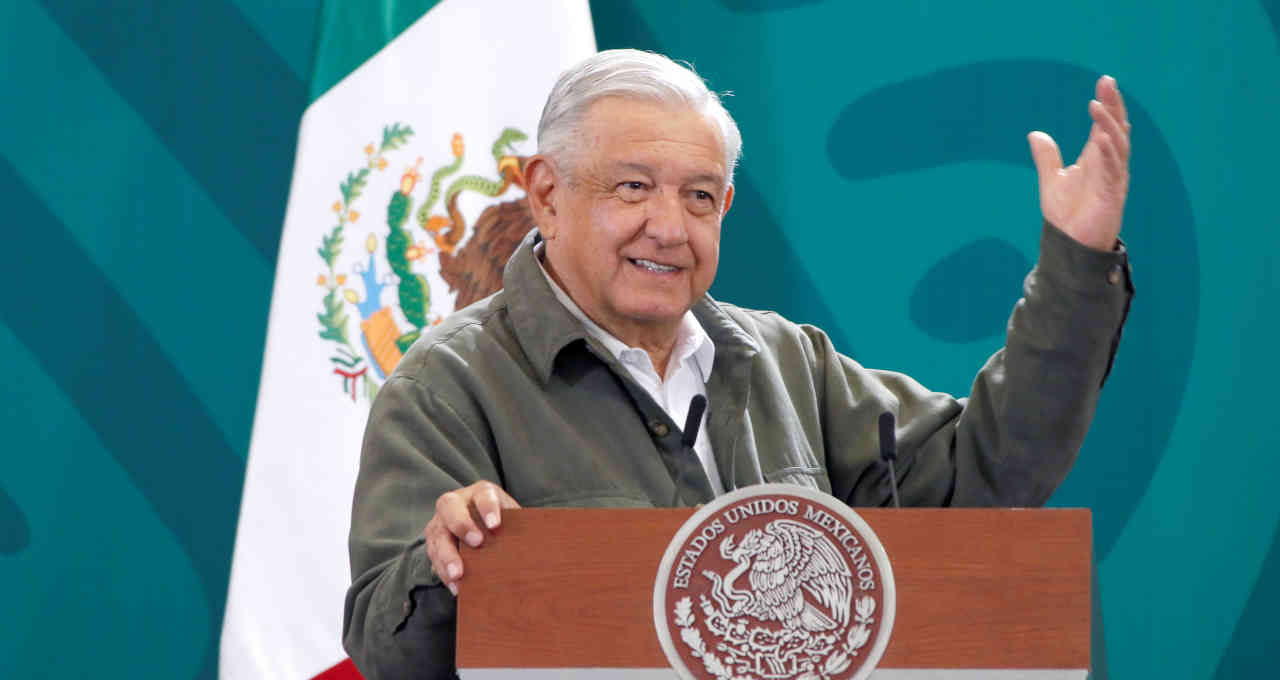 Presidente do México, Andrés Manuel López Obrador.