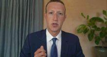 Zuckerberg, CEO do Facebook, testemunha remotamente em comitê do Senado norte-americano