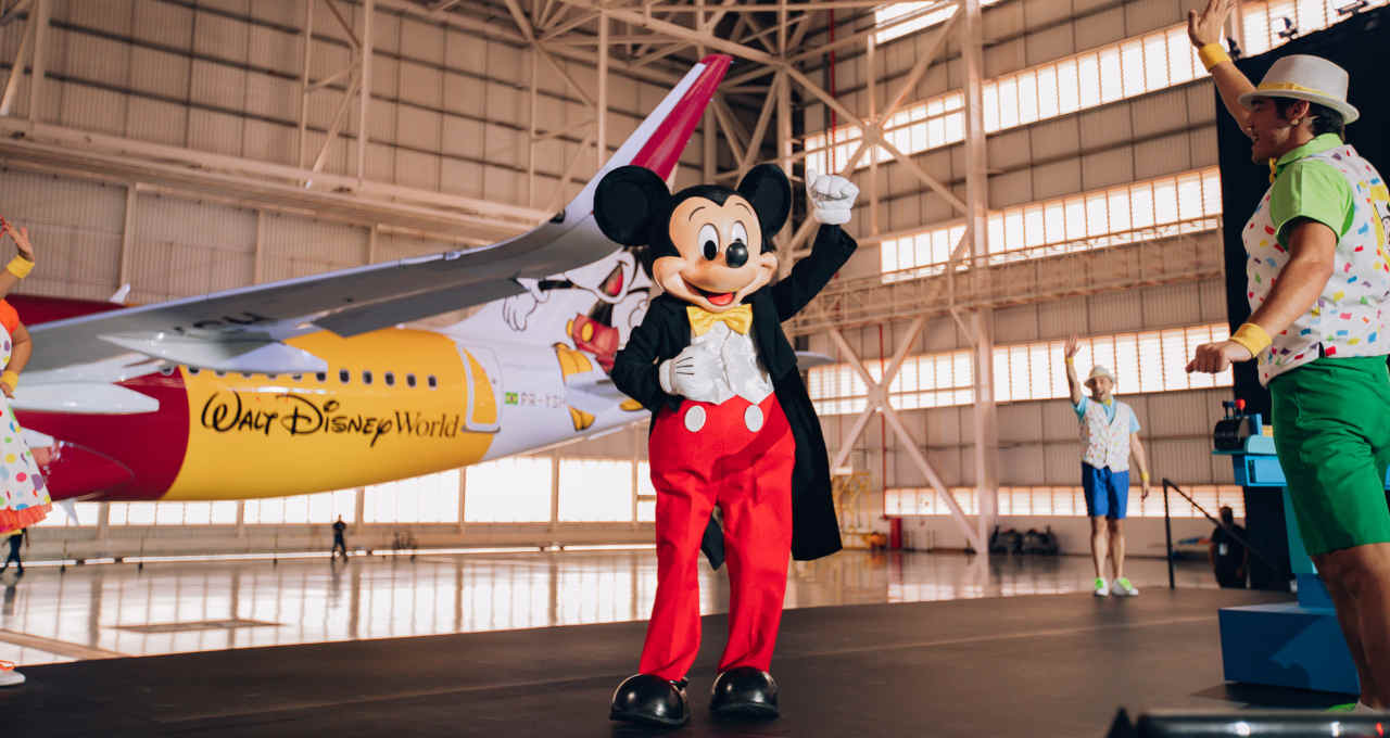 Mickey Mouse Azul
